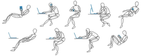 ways to sit