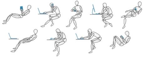ways to sit
